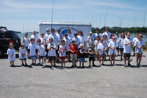 Kid's Fishing Day at Morley's Wharf on June 7, 2015