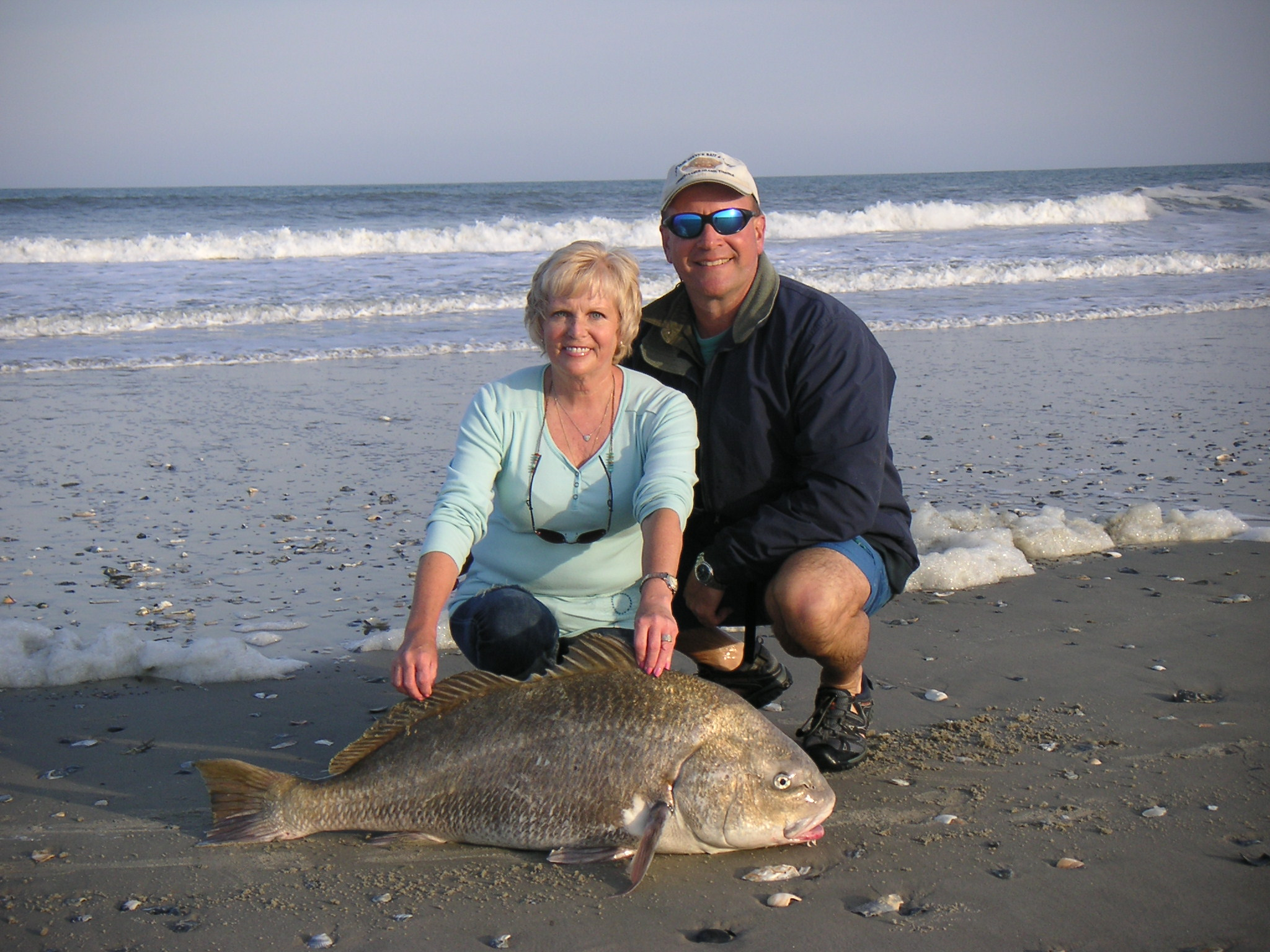 Beach and black drum 2013.JPG